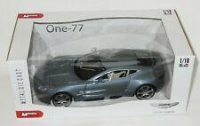 1/18 Mondo Motors   -  Aston Martin One-77  Metallic Silver Blue