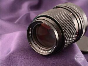 Carl Zeiss Jena Red MC [Sonnar] 135mm f3.5 M42 Universal Mount - Excellent - 381