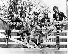 """Bay City Rollers 10"""" x 8"""" Photograph no 35"""