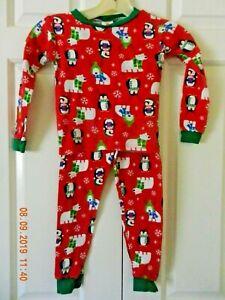 Christmas Holiday Pajamas, Size 5T