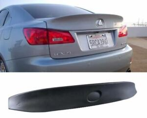 FOR 06-12 LEXUS IS250/IS350 TYPY WD POLY PLASTIC REAR TRUNK DECK SPOILER WING