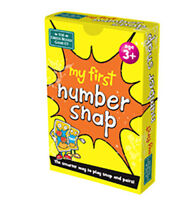 My First Number Snap and Pairs Card Game - Educational Game for Children 3+ Y...