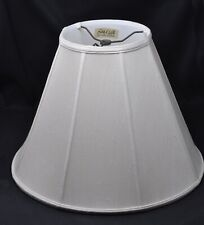 Two Large Vintage Lampshades~1) Silk-O-Lite Octagonal~2) Still In Plastic Cover