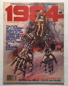1984 Magazine #10 Dec 1979 Warren, Woodroffe, Nino, Catan, Ghita of Alizarr