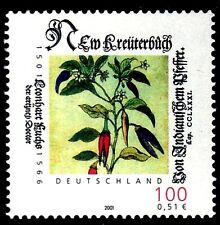 SELLOS MEDICINA ALEMANIA  2001 1993 1v. BOTANICO LEONHART FUCHS