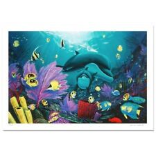 """Sea of Light"" by Wyland - Limited Edition Giclee on Canvas"