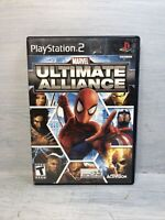 Marvel Ultimate Alliance (Sony PlayStation 2, 2006) PS2 No Manual