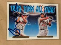 LARRY WALKER 1993 Topps Gold signed card MONTREAL EXPOS ROCKIES CARDINALS HOF NM