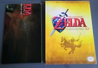 THE LEGEND OF ZELDA OCARINA OF TIME 3D PRIMA OFFICIAL STRATEGY GAME GUIDE POSTER