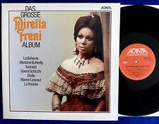 Das Grosse Mirella Freni Album Doppel LP 12` Vinyl