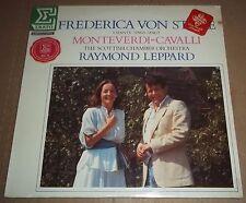 Frederica von Stade/Leppard MONTEVERDI/CAVALLI - Erato NUM 75183 SEALED