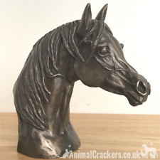 Harriet Glen Bronze Arab Stallion Horse Head bust sculpture ornament figurine