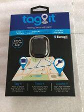 Tzumi Tag-it Bluetooth Tracking Device Luggage Keys Pet Purse Car (Black)