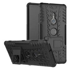 Carcasa Híbrida 2 Piezas Exterior Negro Funda para Sony Xperia XZ3 Cubierta