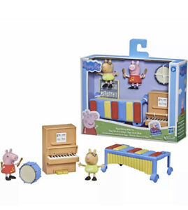 Peppa Pig Peppa's Adventures Making Music Fun Playset *BRAND NEW*