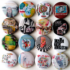 CAGE THE ELEPHANT Button Badges Pins Melophobia Thank You Happy Birthday 16 pcs