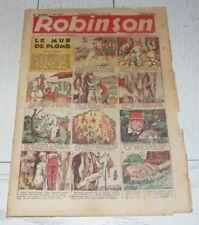 ROBINSON N°354 EO 6 JUIN 1943 BILLON POMMERT PELLOS