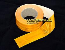 "Folio Reflector ""3M"" Marcas del contorno amarillo 50 mm de ancho autoadhesivo"