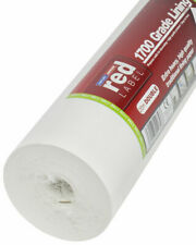 Erfurt Red Label Lining Paper 1700 Grade Double Roll Quality Paintable Wallpaper
