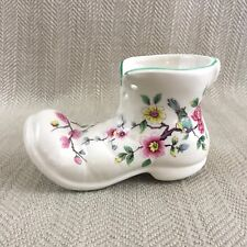 Foley Chinese Rose Boot Shoe China Ornament James Kent Vintage