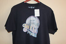 NEW Guess Jeans Vintage S/S Graphic T-Shirt Dirty Humor Funny- Large - Navy Blue