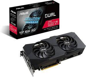 ASUS DUAL AMD RADEON DUAL-RX5600XT-T6G-EVO RX 5600 XT EVO TOP EDITION 6GB GDDR6