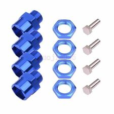 12mm to 17mm HEX Wheel Mount Conversion Adapter HSP RC 1/10 Buggy Truck Car Blue