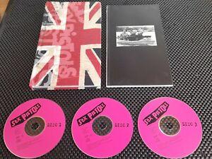 Sex Pistols - Sex Box 1 (3 x CD Box Set + 79 page booklet)