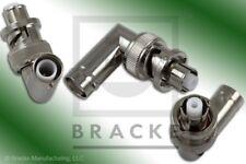 SHV Plug to SHV Jack Right Angle Adapter BRACKE BM50477