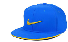 NIKE GOLF True Tour Stretch Fit Dri Fit Blue & Yellow Cap Hat Size L/XL
