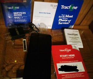Alcatel Tracfone A502DL Cell Phone WIFI Black Android Exc Cond Plz See Descrip
