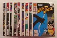 Lot of 9 Mighty Mouse #1-9 NEAR COMPLETE SET Marvel Comics 1990 DEAL!!!