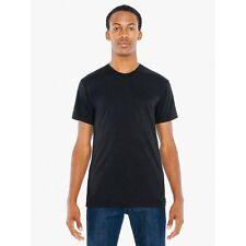 American Apparel 50/50 T-Shirt Poly Cotton Ultra Soft Crew Neck T-Shirt BB401