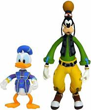 DIAMOND SELECT TOYS Kingdom Hearts 3: Goofy & Donald Action Figure 2 Pack / NIB