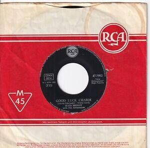 Single 7'' Elvis Presley - Good luck charm