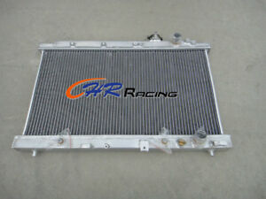 FOR Aluminum Radiator Honda Integra Acura DC2 B18 GSR RS LS 1994-2001 95 96 97
