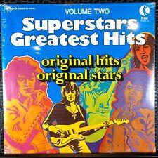 K-Tel Superstars Greatest Hits Volume Two SEALED LP Timmy Thomas Kool & The Gang