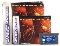 """Nintendo Game Boy Advance Spiel """"Spider-Man 2"""" Modul, Anl. & OVP"""