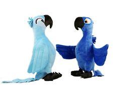 2 pc Rio Movie Figure Blu Jewel 35cm Plush Toy Macaw Parrot Blue Birds Soft Doll