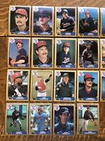 1987 MINNESOTA TWINS Topps COMPLETE Baseball Team SET 28 Cards PUCKETT HRBEK!