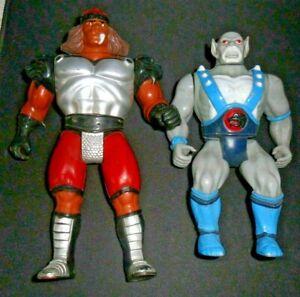 Thundercats Action Figures - Grune & Panthro, 1986 Vintage Figure