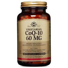 Solgar Vegetarian CoQ-10 60 mg 180 Vegetable Capsules  FREE US SHIPPING