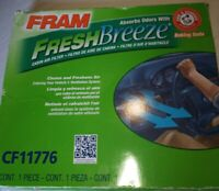 FRAM CF11776 Fresh Breeze Cabin Air Filter with Arm & Hammer Baking Soda Ford