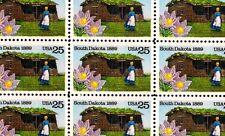 1989 - SOUTH DAKOTA STATEHOOD - #2416 - Full Mint Sheet of 50 Postage Stamps