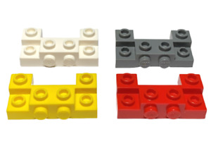 LEGO 14520  Brick, Modified w 2 Recessed Studs - Select Colour - FREE P&P!