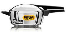 Futura 4Ltr Stainless Steel Induction Base Pressure Cooker FSS40 By Hawkins