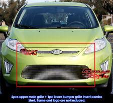 Fits Ford Fiesta SE/SEL Billet Grill Insert 2011-2012