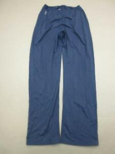 Fila Size L Womens Navy Athletic Nylon Performance Training Track Pants T347