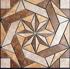 "22 1/4"" Tile Medallion - Daltile's Heathland series, floor or wall"