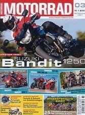 M0703 + Test SUZUKI Bandit 1250S + Dauertest TRIUMPH Sprint ST + MOTORRAD 3/2007